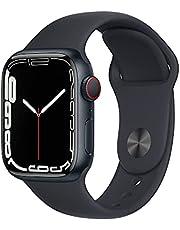 Apple Watch Series 7 GPS + Cellular • 41mm aluminiumboett midnatt • Sportband midnatt – standard