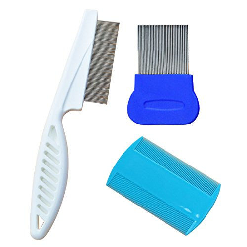 3 Pcs Dog Hair Comb Cat Grooming Comb Clean Tool