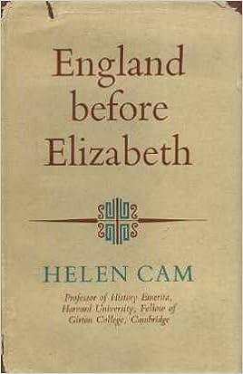 England Before Elizabeth: Amazon.es: Helen Cam: Libros en idiomas extranjeros