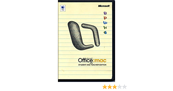Office 2004 Student And Teacher Edition Price