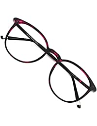 Reading Glasses Round Computer Readers for Women Men...
