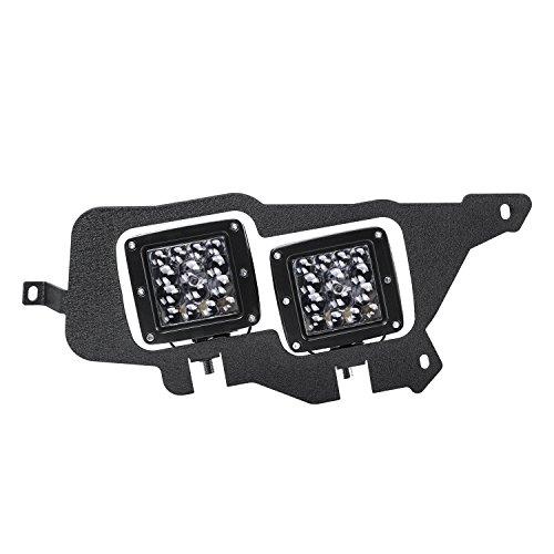 Tube Mounting, AKD Part 2pcs LED Light Bar Mounting Bracket LED Cube Headlight Mount Kit for Polaris RZR, 2 Years Warranty