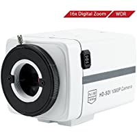 Wiseup™ 2.1MP 1080P HD-SDI Box Camera Motion Detection Video Security Camera with OSD Menu-No Lens