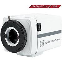 Wiseup™ 2.1MP 1080P HD-SDI Box Camera Motion Detection Video Security Camera with OSD Menu-No Lens
