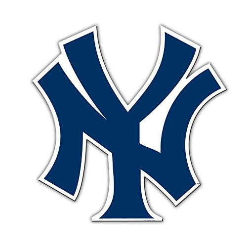 Official Major League Baseball Fan Shop Authentic 12 Jumbo MLB Auto Magnet Banner Logo (New York Yankees)