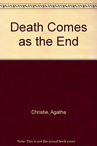 book cover of Death Comes as the End