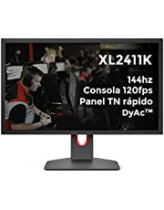 BenQ ZOWIE XL2411K 24-tums 144Hz gamingskärm | 1080P 1ms | Mindre fot | Flexibel höjd- och lutningsjustering