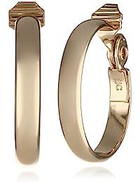 Classics Gold-Tone Wide Hoop Clip-On Earrings