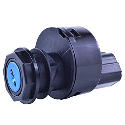 Ignition Key Switch for Yamaha YXP 700/1000 Pro Hauler 2004-2006   OEM Repl.# JU6-H2510-01-00 / JU7-H2510-00-00: Automotive