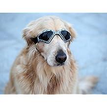 Kpmall Dog V-type Sunglasses UV Protection Fashion Eyewear Goggles Large,Gray