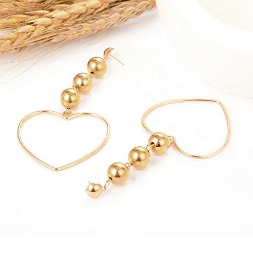 (Vintage Multilayer Alloy Ball Heart Shape Dangle Earrings Party Jewelry Gift Necklace Jewelry Crafting Key Chain Bracelet Pendants Accessories Best)