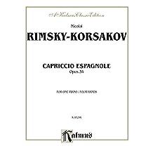 Capriccio Espagnole: Piano Duo/Duet (1 Piano, 4 Hands): 0 (Kalmus Edition)