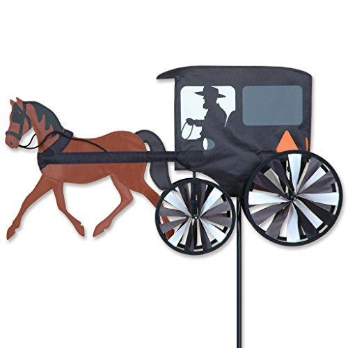 [26 In. Horse & Buggy Spinner] (Horse And Buggy)