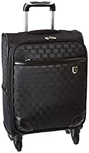"""Beverly Hills Country Club Frankfort 22"""" Spinner Luggage, Black"""