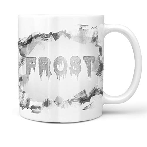 - Neonblond 11oz Coffee Mug Frost Icicles Cold Winter Ice with your Custom Name