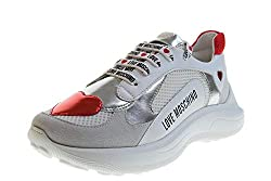 Love Moschino Women S Shoes Sneakers Platform Ja15296g07jx510a White Size 39 White