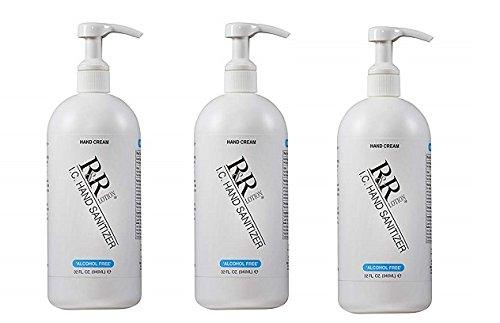''Alcohol Free'' Hand Sanitizing Lotion kills 99% of Germs up to 4 Hours, 32oz. (3-Pack)