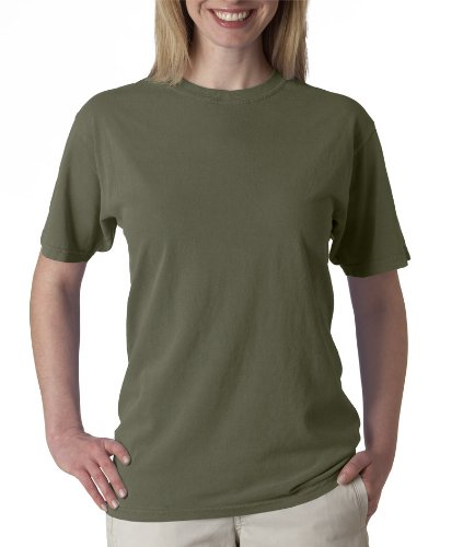picture of Chouinard Adult Ring-Spun Cotton Tee - Sage DirDye - 2XL
