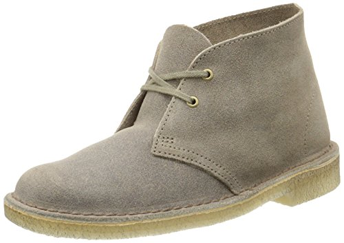 Clarks Women's Desert Boot Chukka Boot, Taupe Distressed, 7 M US