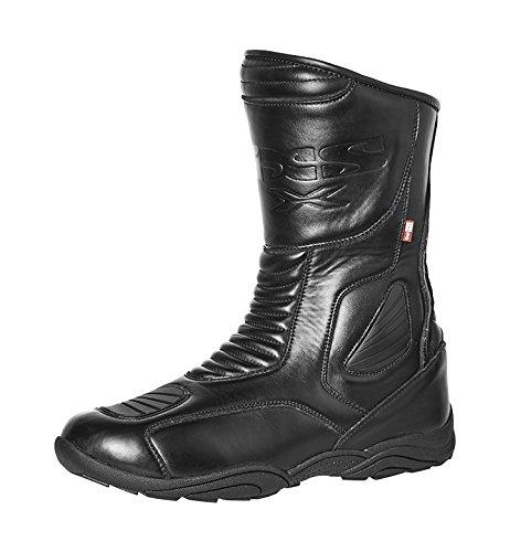 IXS Men's Tarmac Boots (Black, Size US 11.5/Size EU (Grain Nappa Footwear)