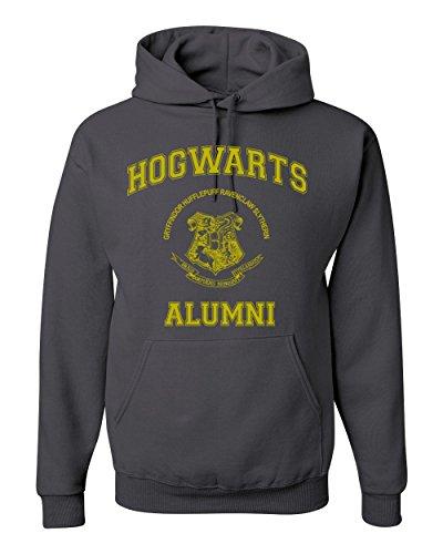 Gold+Design+Hogwarts+Alumni+Harry+Potter+Unisex+Hooded+Sweatshirt+Fashion+Hoodie+%28+Charcoal+%2C+Small+%29