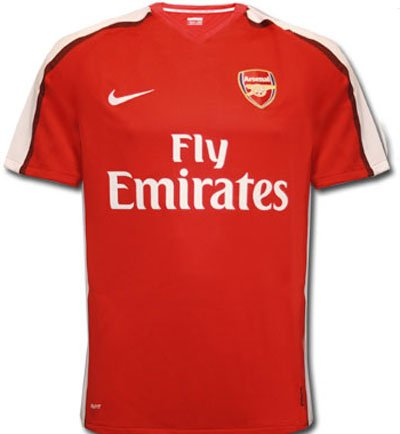 the best attitude a85e8 58a74 Amazon.com : Arsenal Home Shirt 08-10 : Athletic Jerseys ...