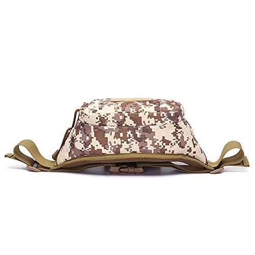 viaje bolsa para de agujero viajar camping bolsa Bag Bolso la de la ACU Ciclismo Shamoshuma Bum el los auriculares Senderismo de de de con xX80dqw