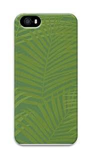 iPhone 5 5S Case Green Fern Pattern 3D Custom iPhone 5 5S Case Cover