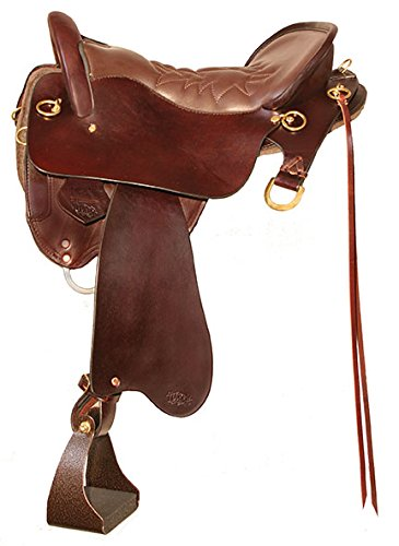 Circle Y Endurance Saddle (Tucker Smooth Brass Endurance Saddle Wide 15.5)