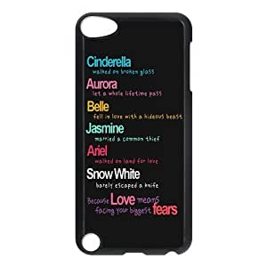 iPod 5 Case,Love Quotes Hard Snap-On Cover Case for iPod Touch 5, 5G (5th Generation)