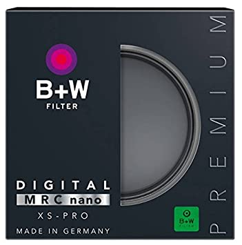 B+W 58mm XS-Pro HTC Kaesemann Circular Polarizer with Multi-Resistant Nano Coating Black