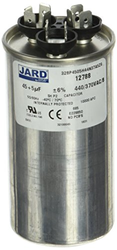 MARS - Motors & Armatures 12788 45/5 MFD 440V ROUND Air Conditioning Run Capacitor