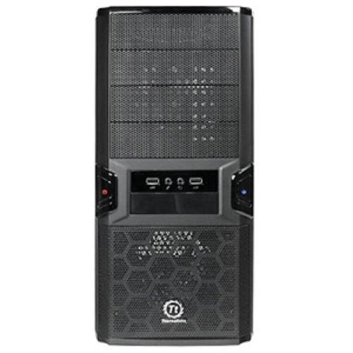 Thermaltake V3 Black Edition VL84521W2U Mid Tower Case with 450W Power Supply(Black)