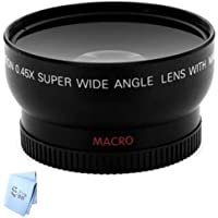 Professional 67mm Wide Angle Lens for Canon T3i, T3, 20D, 5D, 300D SLR Cameras