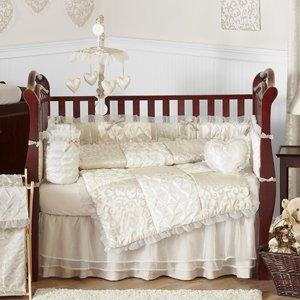 Amazon.com: champaña y marfil Victoria – de cama de bebé ...