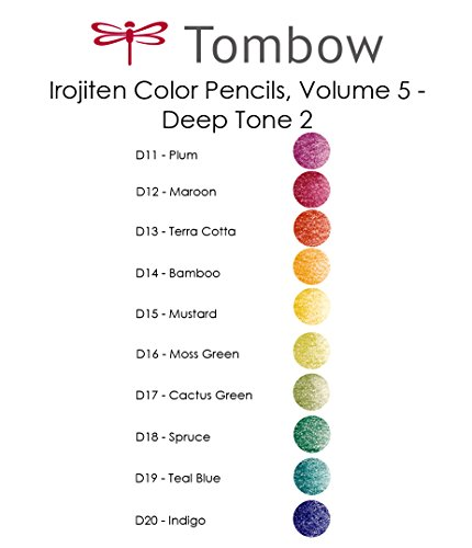 Tombow Irojiten Colored Pencils, Woodland, 30-Pack by Tombow (Image #6)
