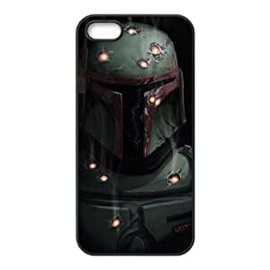 Diy Case for iPhone 5,5S ,Star Wars Warrior Customized case Fashion Style WANGJING JINDA