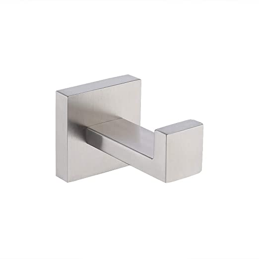 Amazon.com: KES A2560 - Perchero de pared para baño (acero ...