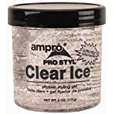 Beauty : Ampro Pro Styl Clear Ice Protein Styling Gel, 6 Ounce (Pack of 6)