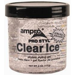 Ampro Pro Styl Clear Ice Protein Styling Gel, 6 Ounce (Pack of - Gel Protein Ampro