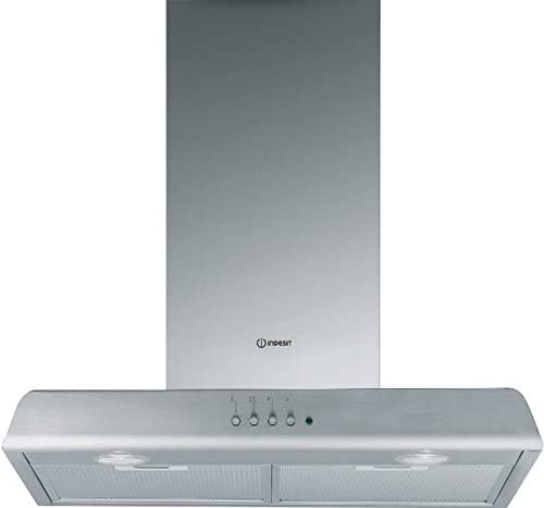Indesit Campana extractora campana Cocina a pared 60 cm Col. Inoxidable Hip 6P IX: Amazon.es: Hogar
