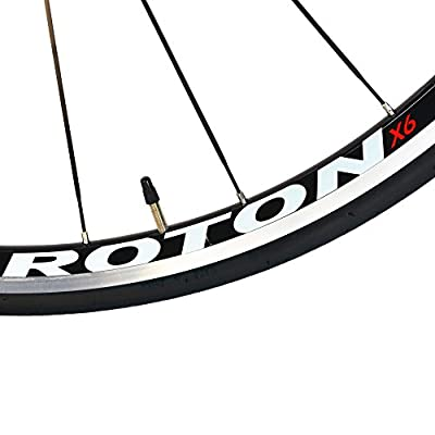 BEIOU 2016 Carbon Comfortable Bicycles 700C Road Bike LTWOO 210 Speed SRAM Brake Complete 18.3 lb Hybrid Bike Toray T800 Fiber CB0012B (White Orange, 500mm)