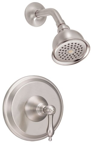 Danze D500540BNT Fairmont Single Handle Shower Trim Kit, 2.5 GPM, Valve Not Included, Brushed Nickel Danze Fairmont Shower Valve