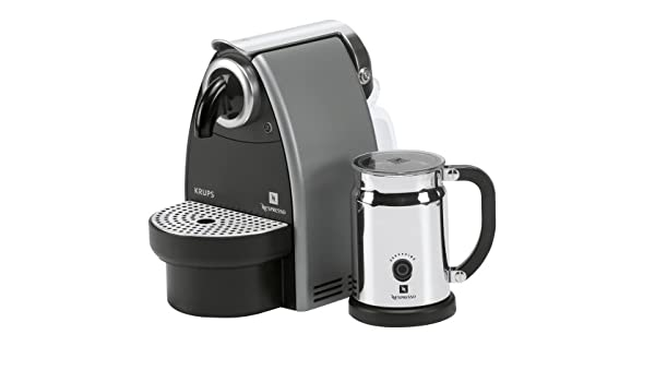 Nespresso Krups Essenza XN 2115 & Aeroccino Color Negro: Amazon.es ...