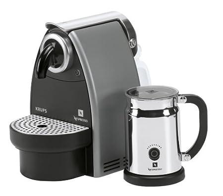 Nespresso Krups Essenza XN 2115 & Aeroccino Color Negro: Amazon.es ...