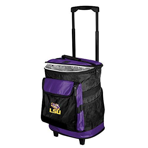 (Logo Brands NCAA LSU Tigers Unisex Rolling CoolerRolling Cooler, Purple, One Size)