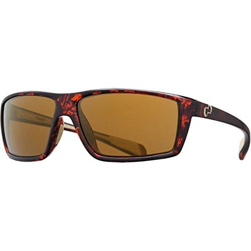 Native Eyewear Sidecar Polarized Sunglasses, Bronze Reflex, Maple Tort