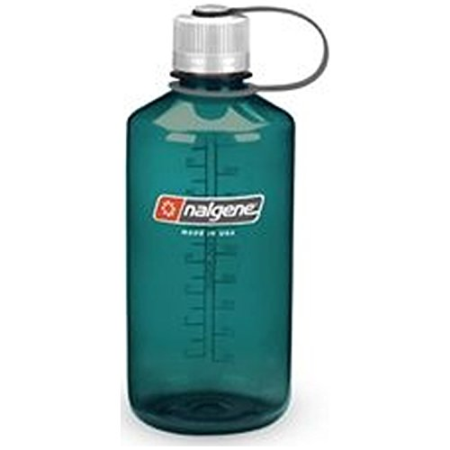 Nalgene Narrow Mouth 1 qt Everyday Water Bottle - 2 Pack (Trout Green)