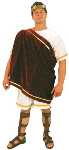Mark Anthony Costumes (Adult Red Mark Anthony Costume (Size: Standard 42-46))