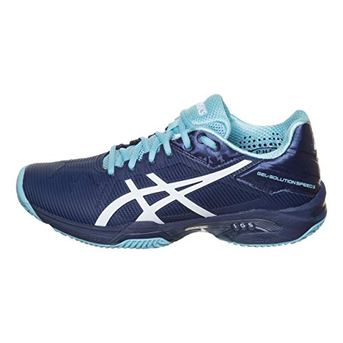 3 Speed Gel Asics Bleu 42 clay Femme n Solution 4901 E651 qttCpcE